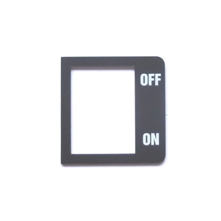 PLATE ON/OFF L285T