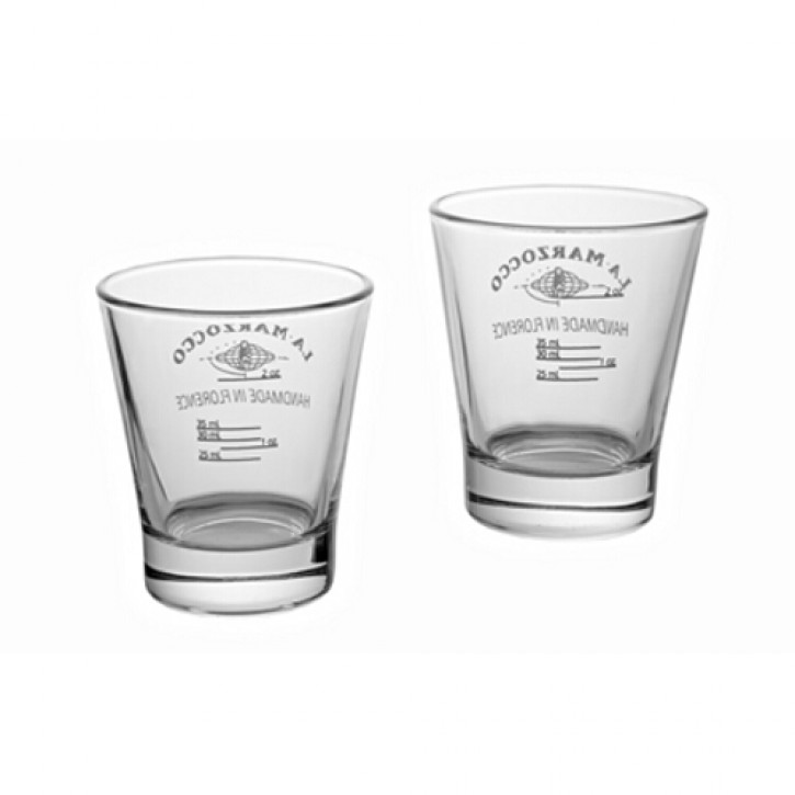 SHOTGLAS MIT MARKIERUNG SET 6 STUECK SHOT GLASS WITH VOLUME LINES SET OF 6 Y031M